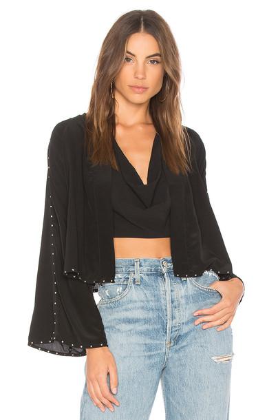 Indah jacket black