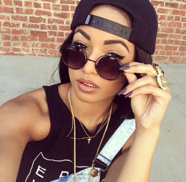 sunglasses jewels top
