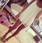 dress,white dress,white,cute,shoes,heels,cute dress,high heels,prom dress,summer dress,clothes,rose dress,skirt,summer,short dress,flowy,girly,gold,love,classic,girl,women,fashion,watch,sandals,beige,light,sexy,straps,loose,pretty,nude,greek goddess,luxury,sexy party dresses,party dress,tunic,cream,gorgeous,beige shoes,nude high heels,white flowy dress,white simple deess,floaty,short,beautiful white dress,short party dresses,sparkle,mini,lovely,princess,strappy heels,white dress came swing,beautiful,drugs,flow,likeitup,sweet,red dress,blogger,summer outfits,swing dress,graduation,summer shoes,peep toe heels,wedges,jewels,cream heels,outfit,chiffon dress,chiffon,mini dress,classy,blouse,weheartit,short white dress,scoop neck,girly outfits tumblr,removable,summerdress white,white sheer baby doll dress chiffon short,loose dress,silver,this dress,flowy dress,flowy white dress,hipster dress,classy dress,comfortable dress,formal dress,little white dress,sleeveless dress,style,wavy,nude heels,suede shoes,suede,cute high heels,camisole dress,t strapped,platform shoes,strapped,beige heels
