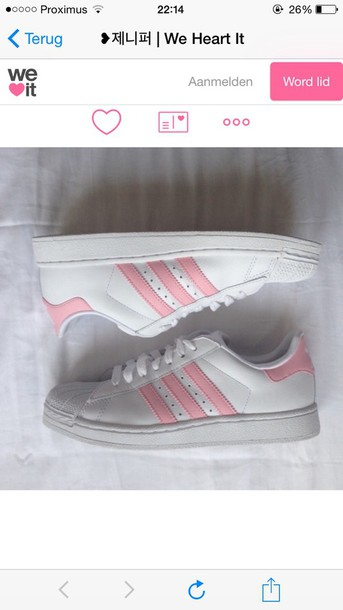 904958bb4fcc shoes adidas pink adidas superstar 2 shoes stan smith addidas superstar  sneakers white sneakers pink shoes