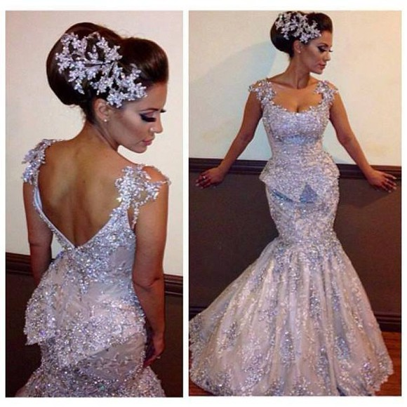 dress beautiful glitter dress glitter girl silver instagram facebook tumblr peplum dress design fabulous make up earrings ring brown engagement pinterest
