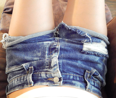 BF Stonewash 420 Shorts - Arad Denim