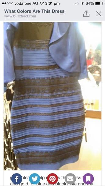 dress black dress black and blue dress blue and black white and gold dress gold and white dress