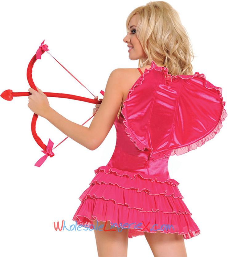Wholesale 4pc. kiss me cupid costume val503 [val503]