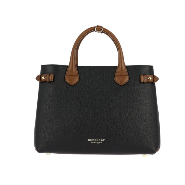 Burberry women handbag black bag