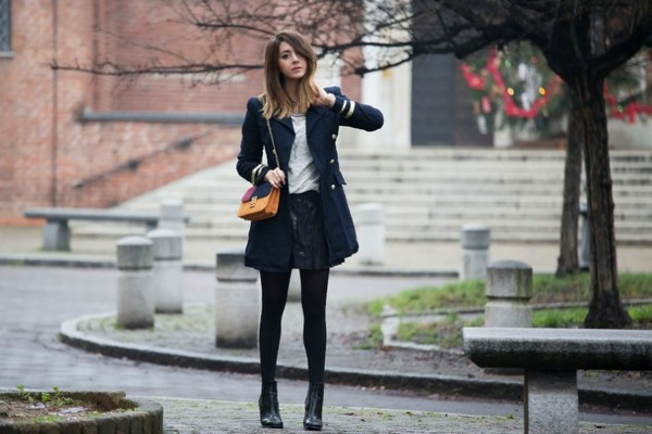 scent of obsession jacket sweater skirt bag shoes