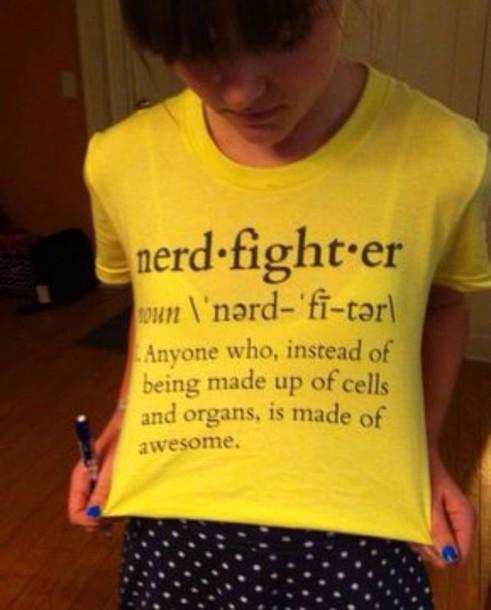 shirt john green nerd