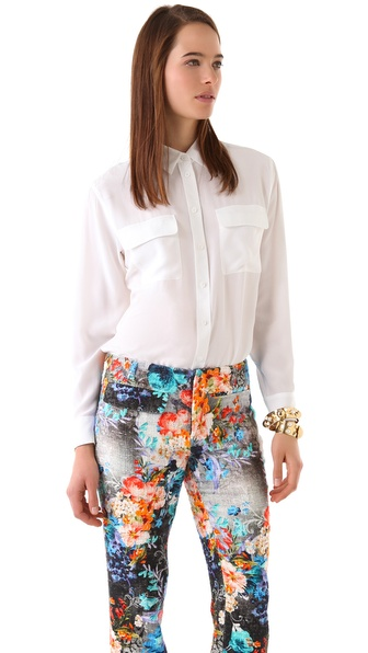 Equipment Signature Blouse | SHOPBOP | Use Code: EXTRA25 for 25% Off Sale Items