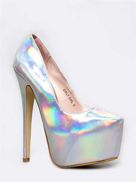 Girly girl pump