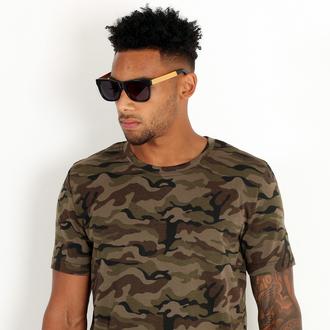 t-shirt maniere de voir camouflage khaki jungle