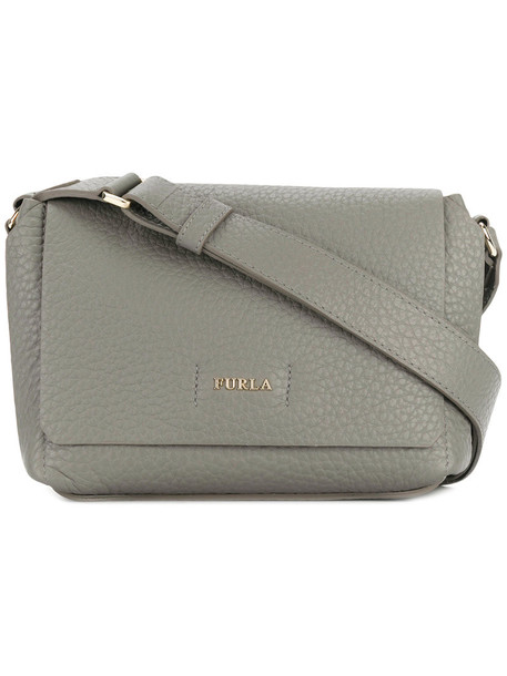 Furla women bag crossbody bag leather grey