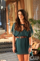 green dress,belt,shenae grimes,90210,millau,annie wilson,dress,Shanea Grims