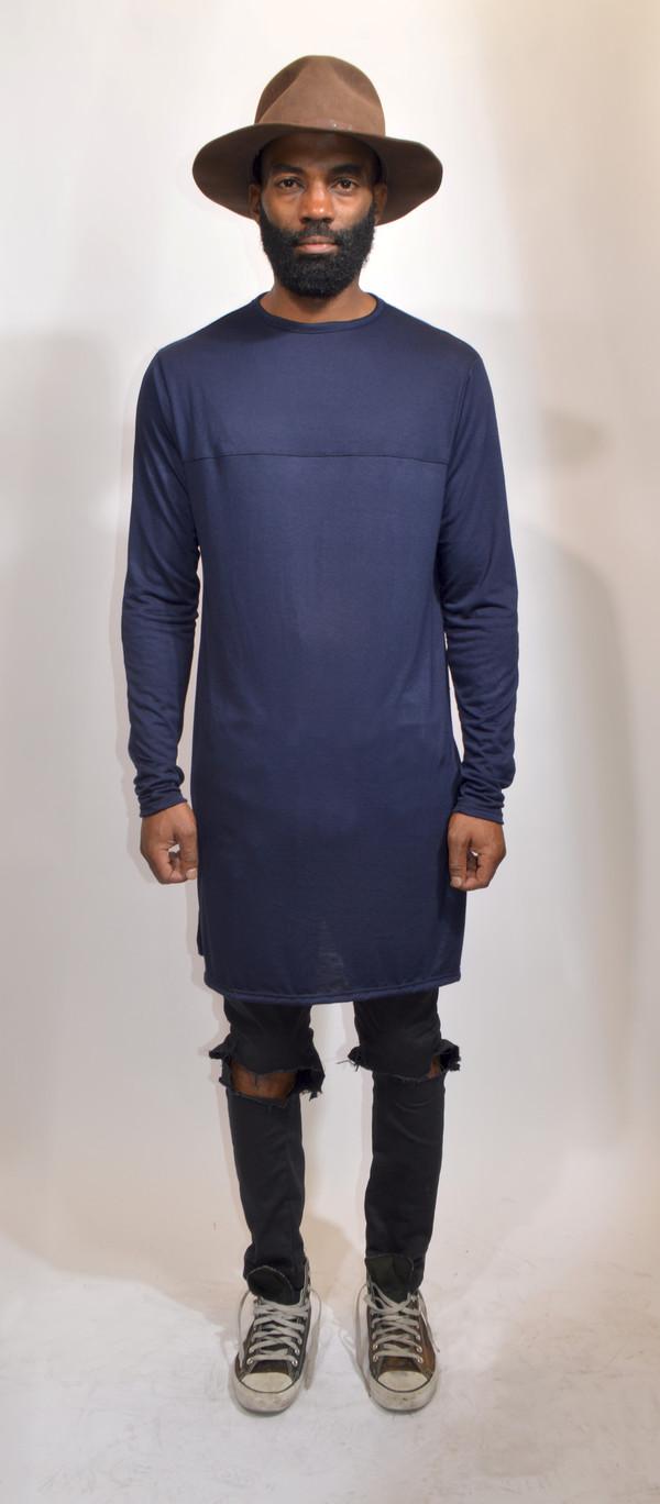 T shirt navy ninja goth streetwear streetstyle street for Urban streetwear t shirts