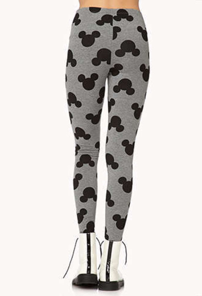 leggings mickey mouse