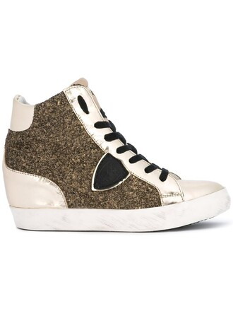 glitter high women sneakers leather cotton grey metallic shoes