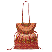 bag,mandala handbag,handbag,bucket bag,mandala