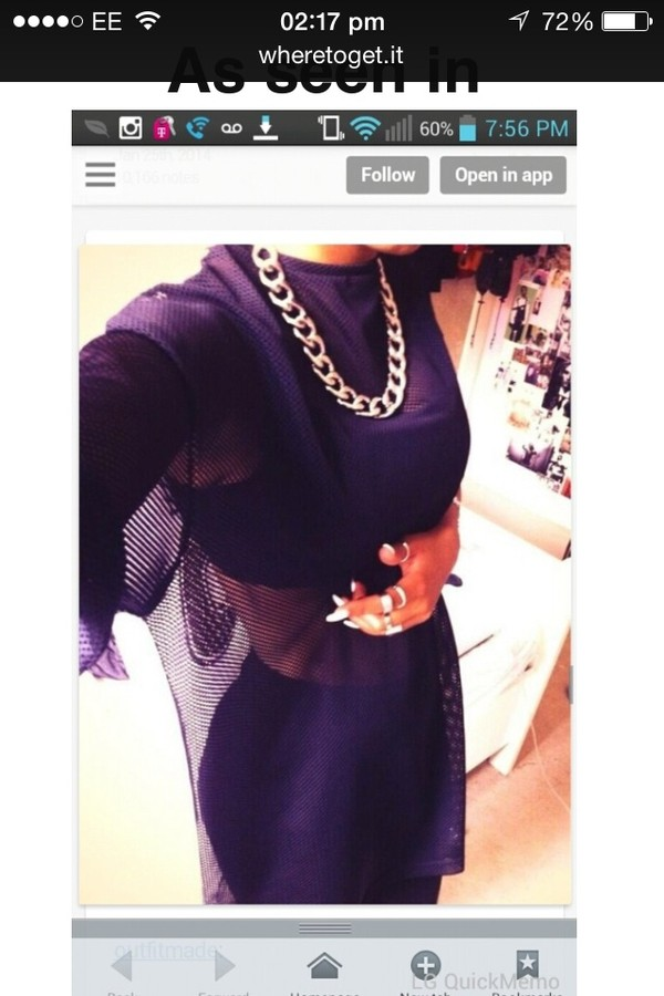 top mesh oversized long long sleeves blouse