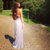 dress,prom,chiffon,pale,lilac