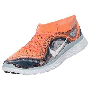 best authentic 9aeb8 9aff2 Nike Women s Free Flyknit - Atomic Pink Squadron Blue (615806-614)
