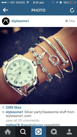 jewels bangle bracelets knot knot heart