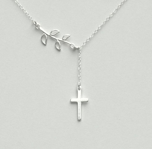 sterling silver jewels necklace cross necklace