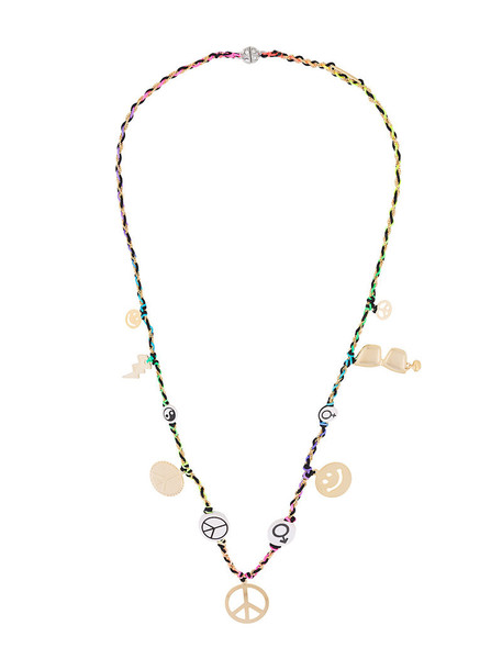 Venessa Arizaga women peace necklace jewels