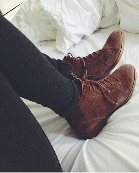 booties boots cute shoes brown shoes shoes brown booties lace up boots