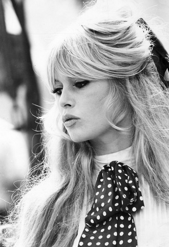 t-shirt vintage blouse shirt polka dots model retro 60s style brigitte bardot