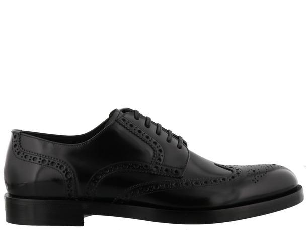 Dolce & Gabbana Derby Shoes in black