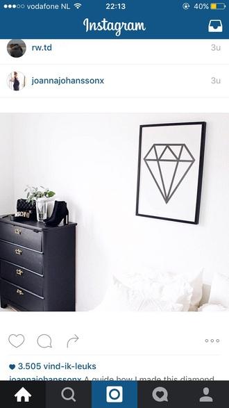 home accessory diamonds canvas home decor cozy