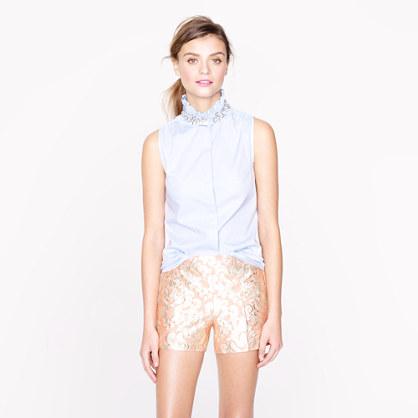 d72026d63bab5a Tilda oxford rhinestone top - sleeveless - Women s shirts   tops - J.Crew