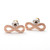 girlsluv.it - infinity earrings, brushed