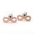 girlsluv.it - infinity earrings, brushed