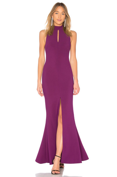 Likely gown purple dress