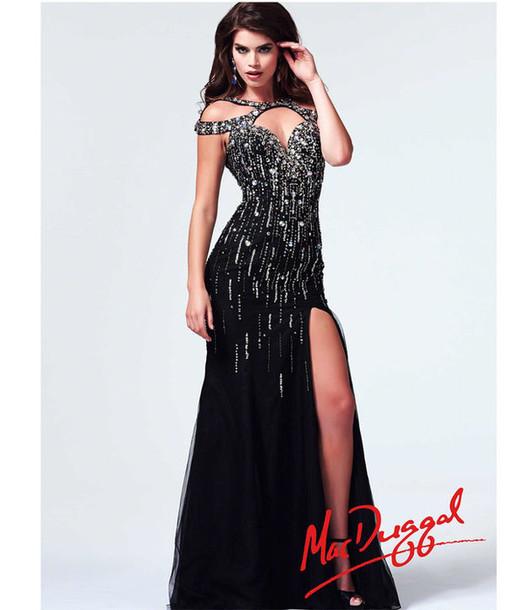 Black prom dress 2014