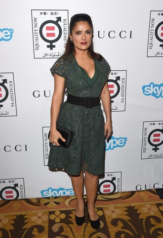 shoes dress bag salma hayek