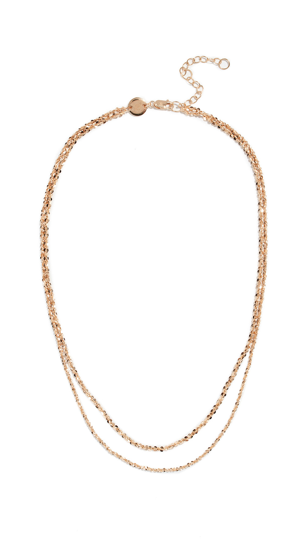 Jennifer Zeuner Jewelry Wes Necklace in gold / yellow