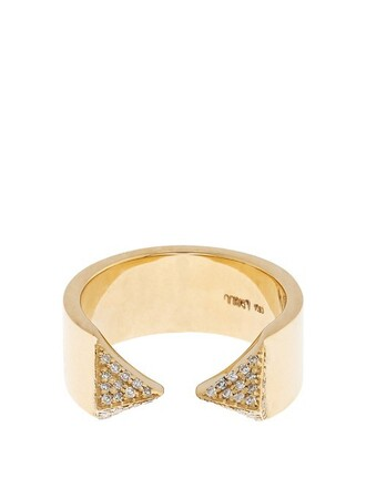 ring gold white yellow jewels