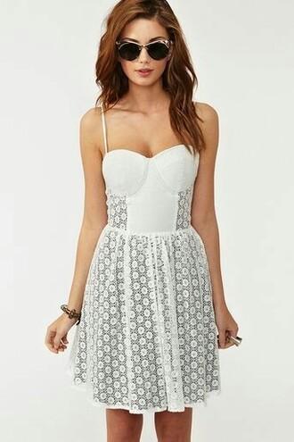 dress floral dress cream dress