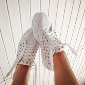 shoes,converse,white,tacks,white sneakers,low top sneakers