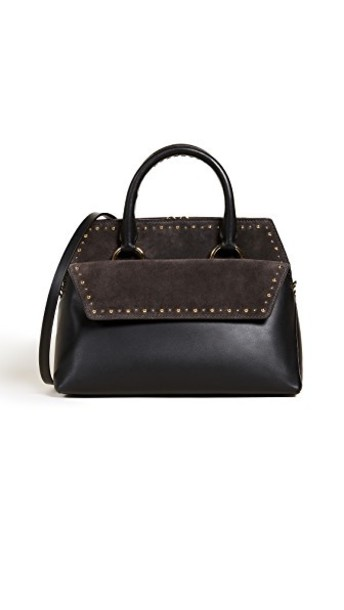 Diane Von Furstenberg satchel black bag
