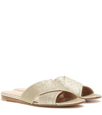 glitter sandals gold shoes