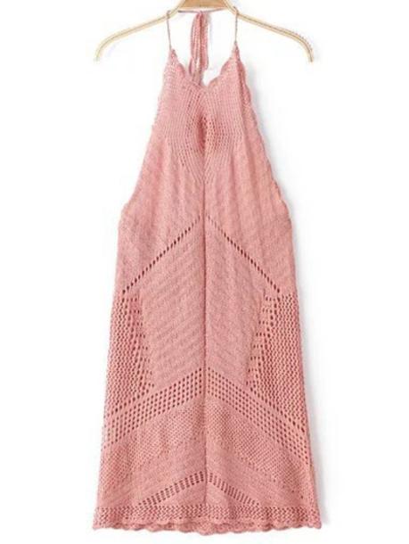 dress pink pink crochet pink crochet dress crochet pink dress light pink crochet dress light pink dress