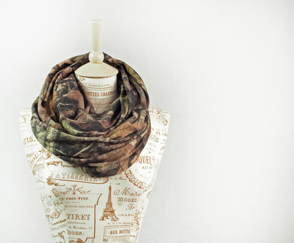 camoflauge camouflage scarf realtree real tree infinity scarf eternity scarf camo scarf camouflage scarf real tree scarf