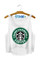 Dumb starbucks crop top
