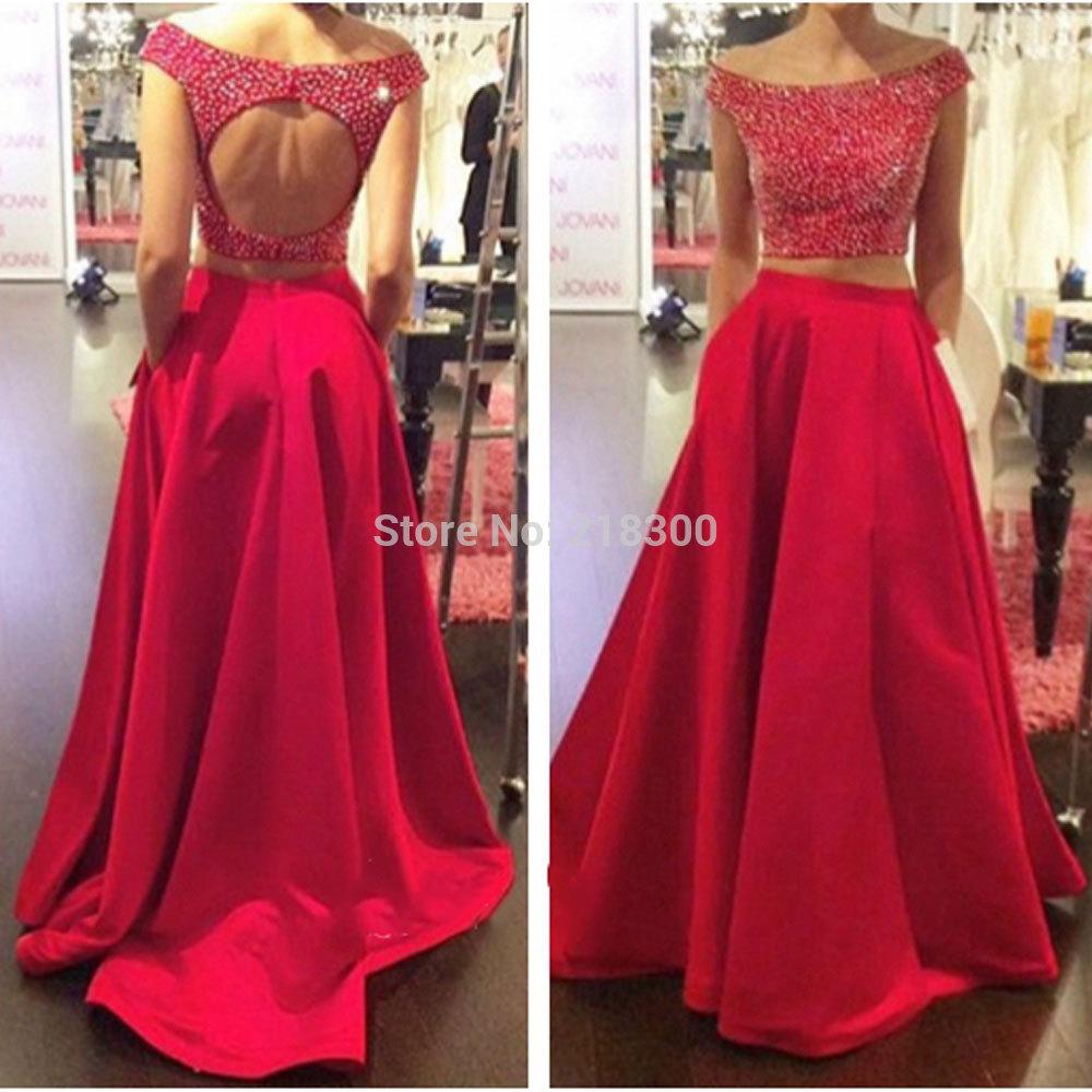 d55bf75cf6 Sparkly Red Prom Dresses - raveitsafe