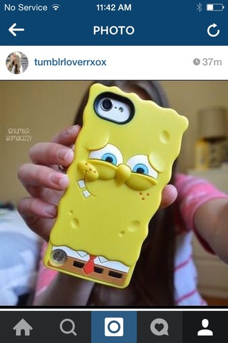 phone cover spongebob iphone case