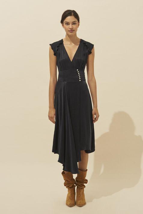 DRESS CORALIE NOIR // ba&sh