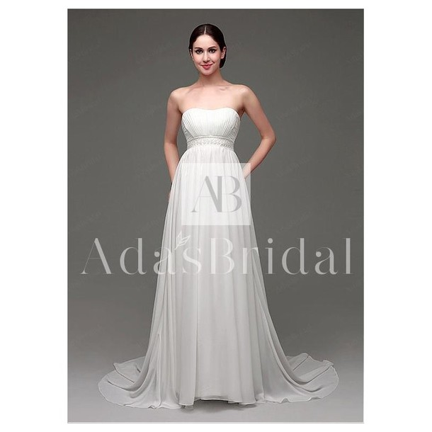 dress wedding dress stockings strapless a line prom gowns