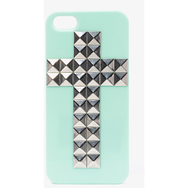 Total Stud Cross Phone Case - Forever 21 - Polyvore